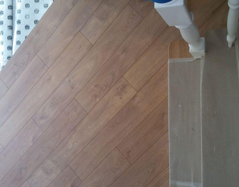 Panele podłogowe - realizacja