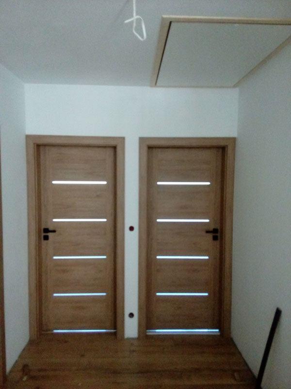 drzwi podwójne